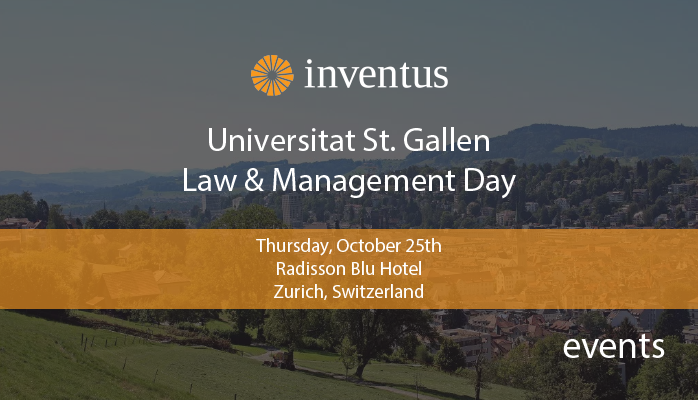 Law & Management Day at St. Gallen University